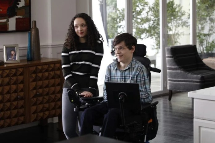 SPEECHLESS on The ABC Television Network (ABC/Rick Rowell) KAYLA MAISONET, MICAH FOWLER