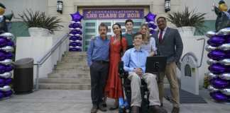 SPEECHLESS on The ABC Television Network (ABC/Richard Cartwright) JOHN ROSS BOWIE, MINNIE DRIVER, MASON COOK, MICAH FOWLER, KYLA KENEDY, CEDRIC YARBROUGH