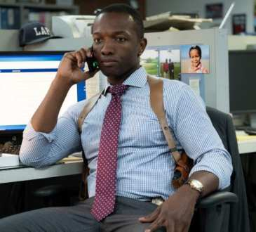Bosch season 5 episode 1, Jerry Edgar (Jamie Hector) Photo credit: Aaron Epstein/Amazon Prime Video
