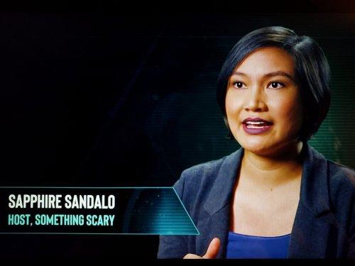 Sapphire Sandalo, Paranormal Caught On Camera