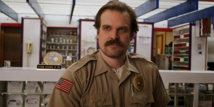 David Harbour in Stranger Things 3 photo credit: Netflix