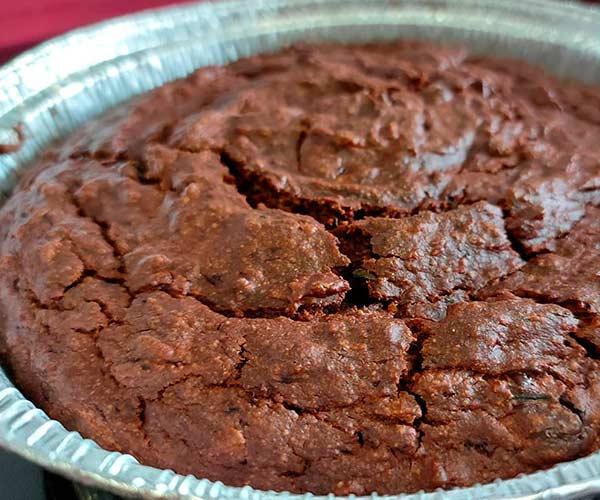 fanfood, brownie de calabacin, elaboracion 3