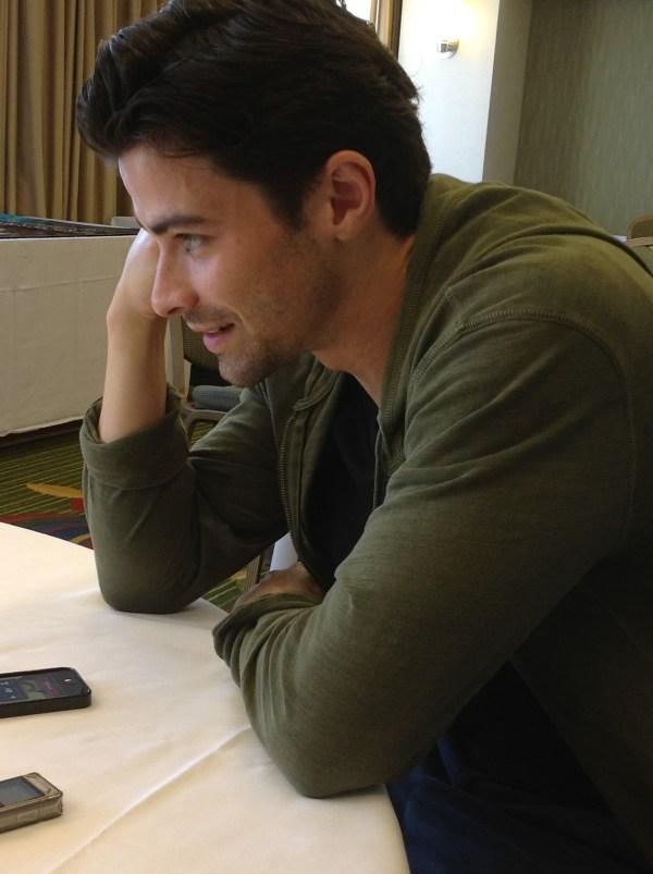 Matt talks to Dad. Awww.