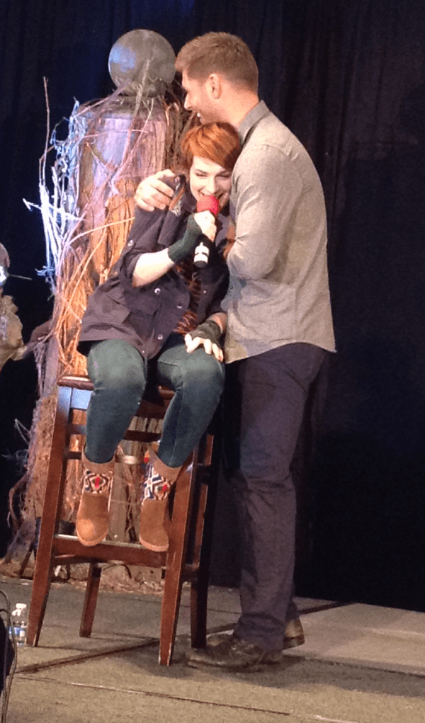 Jensen and Felicia. Awwww.
