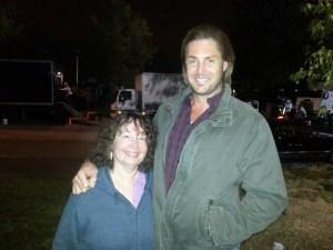 So he's a little taller than me...
