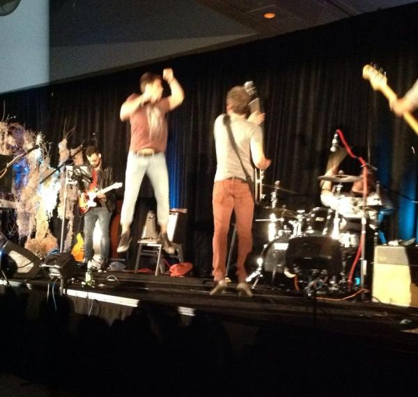 Airborne! Matt Cohen and Rob Benedict