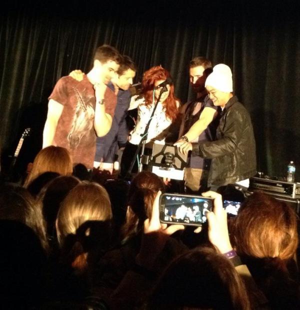 Matt, Misha, Alaina, Gil and Osric - Carry On