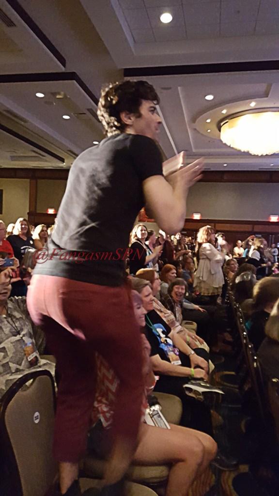 Matt Cohen dancing to Louden Swain