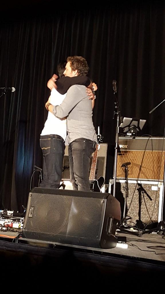 A  hug from Osric