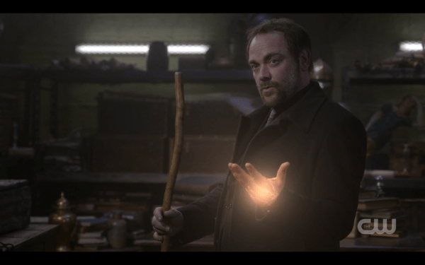 Crowley and his rod...