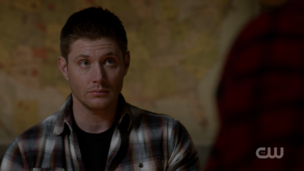 Is Dean actually giving Sam the puppy eyes?
