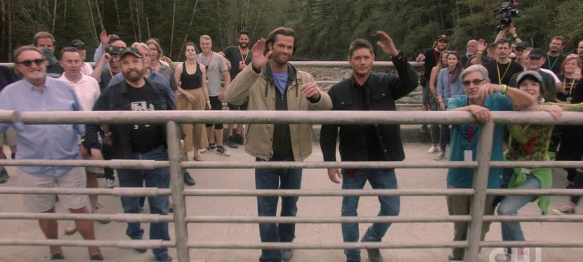 Looking Back to One Year Ago…As Supernatural Filmed Its Final Episode