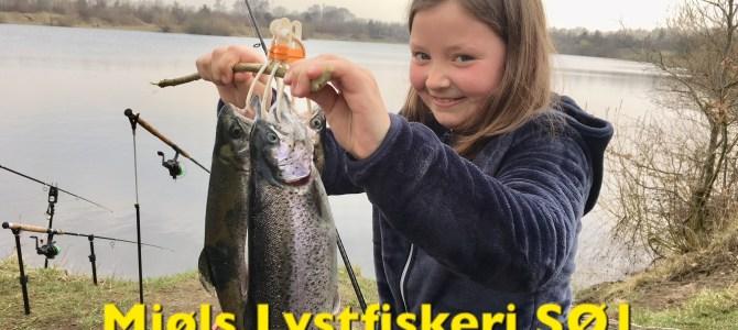 PODCAST – 13. april – Mjøls Lystfiskeri: 9-årige Luna fik fisk på krogen….