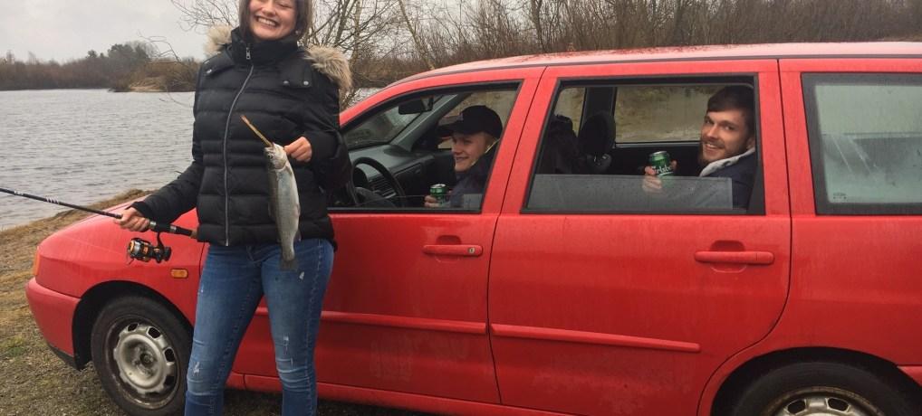 – Nanna viste drengene hvordan  man fanger fisk