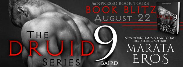 Book Blitz and Giveaway!!  Druid Series 9: Baird by Marata Eros