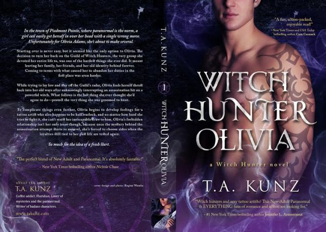 Release Day: WITCH HUNTER OLIVIA by T.A. Kunz