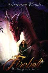 5 Fang Book Review!!  Firebolt by Adrienne Woods