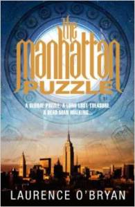 Book Blast!!  The Manhattan Puzzle by Laurence O'Bryan