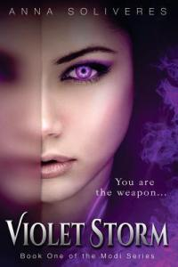 Book Review!!  Violet Storm by Anna Soliveres