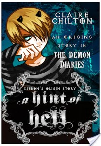 Day 2: 4 Fangs for A Hint of Hell by Claire Chilton