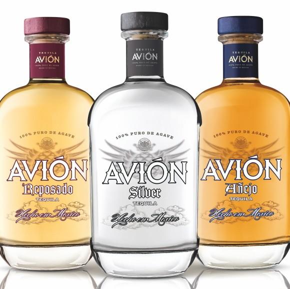 Avion tequila bottles