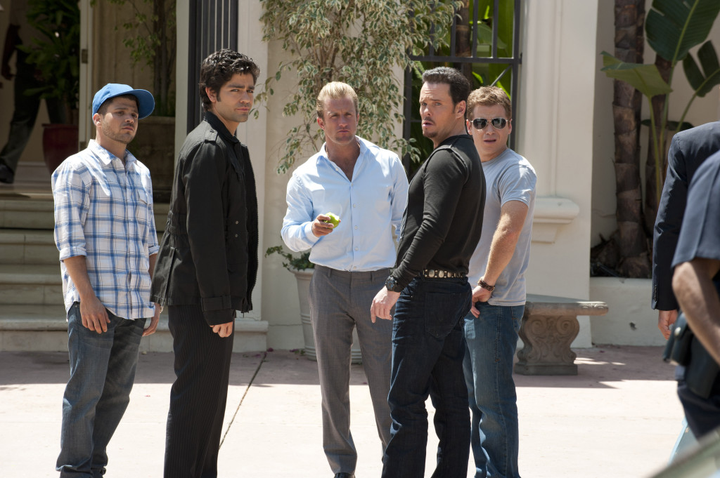 Scott Caan and the cast of Entourage