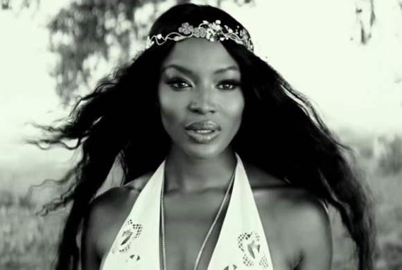 Naomi Campbell looking ethereal in Zoolander commercial