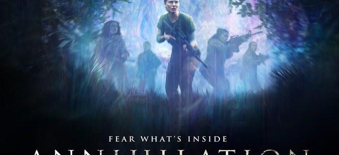 annihilation movie poster with natalie portman