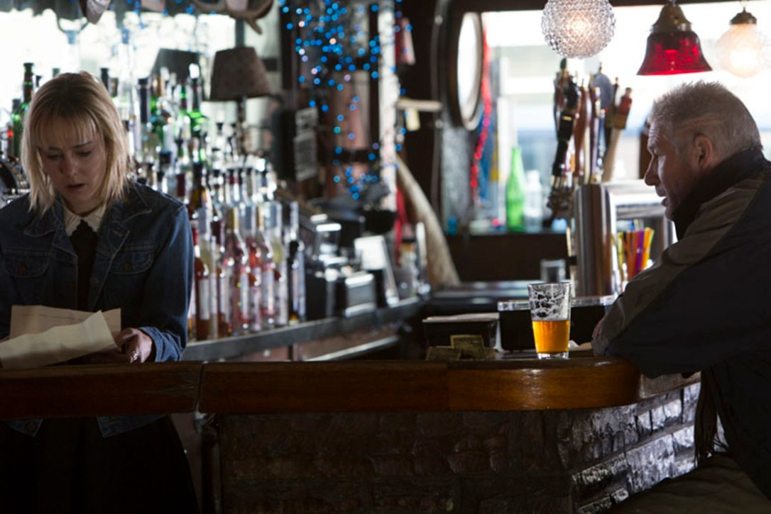 Richard Gere and Jena Malone in Time Out of Mind