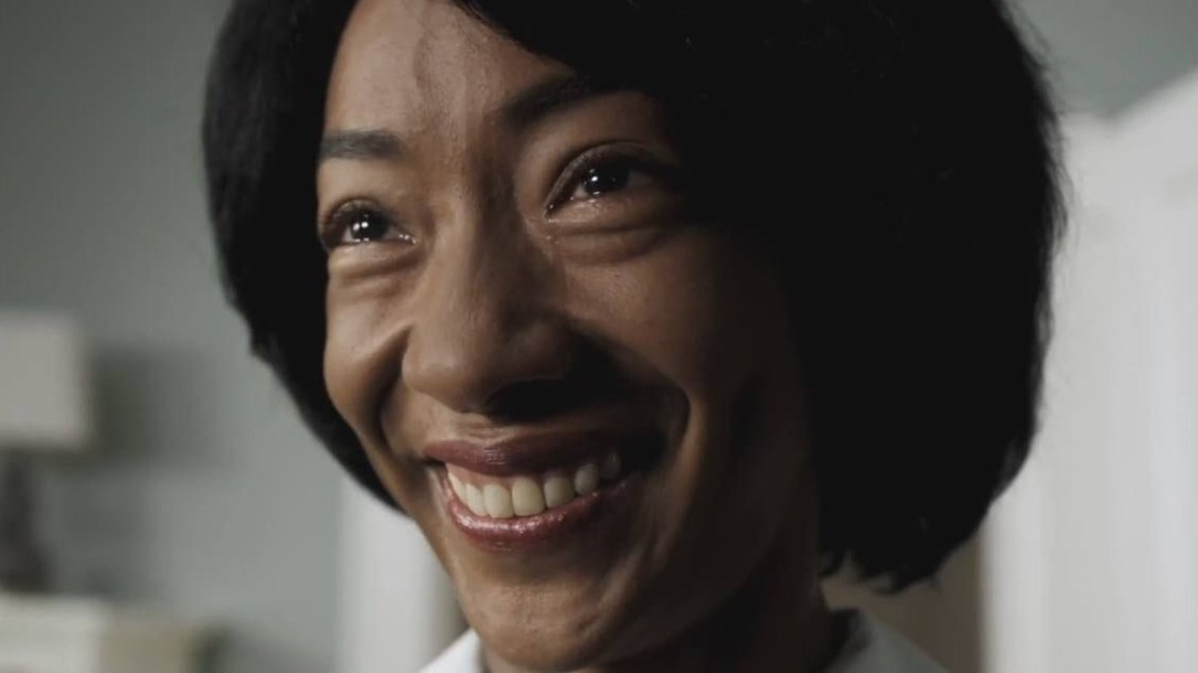 Betty Gabriel saying no no no in Get Out movie