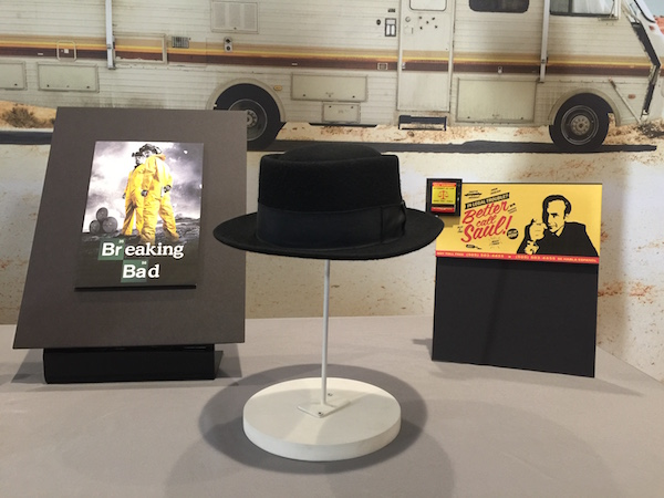 Heisenberg hat from Breaking Bad at the Smithsonian