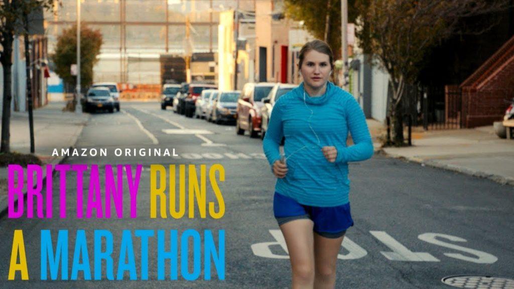 Jillian Bell running in Brittany Runs A Marathon