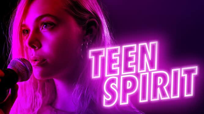 Teen Spirit movie poster with Elle Fanning