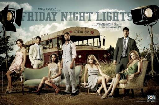 Friday Night Lights TV poster entire cast