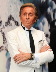 Valentino in a suit