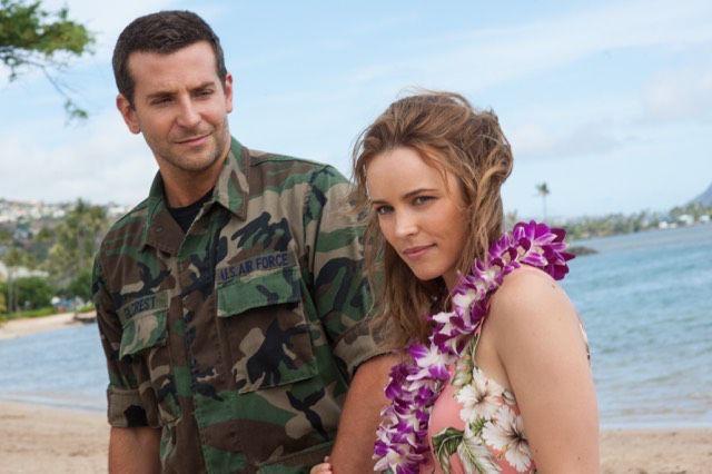 Bradley Cooper and Rachel McAdams in Hawaii for Aloha movie