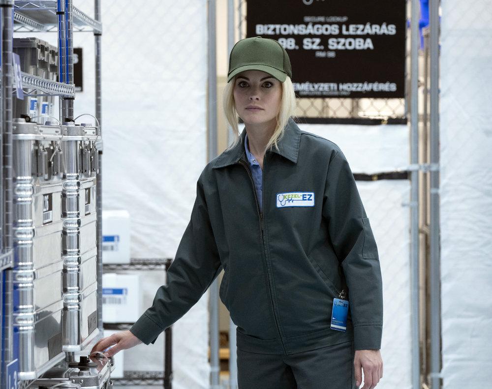 BLINDSPOT -- Pictured: Jaimie Alexander as Jane Doe -- (Photo by: Virginia Sherwood/NBC/Warner Bros)