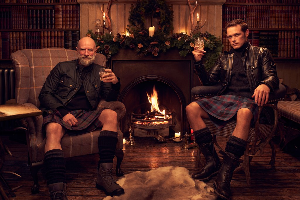 Men In Kilts And How Sam And Graham Inviting Us To Visit Scotland