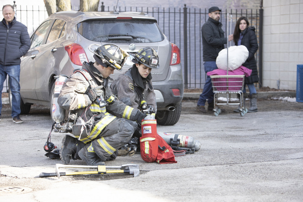 "CHICAGO FIRE -- ""One Crazy Shift"" Episode 910"