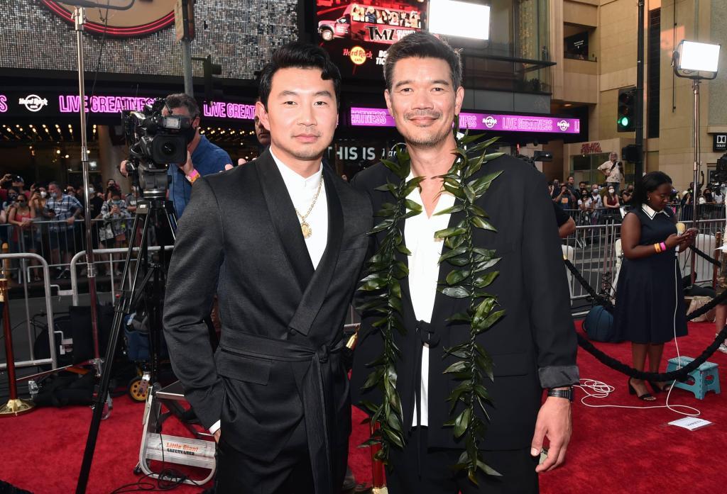 Simu Liu and Destin Daniel Cretton