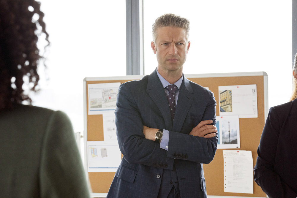 """LAW & ORDER: SPECIAL VICTIMS UNIT -- """"I Thought You Were on My Side"""" Episode 23002 -- Pictured: Peter Scanavino as Assistant District Attorney Sonny Carisi -- (Photo by: Virginia Sherwood/NBC)"""