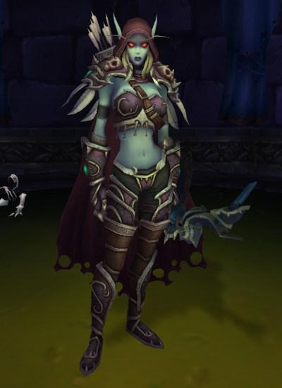 Sylvanas Windrunner in World of Warcraft