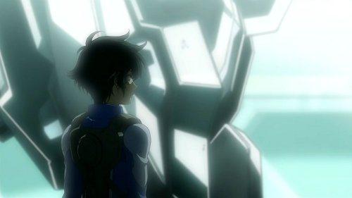 Setsuna in the final episode of Gundam 00