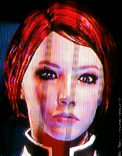 My female Commander Shepard