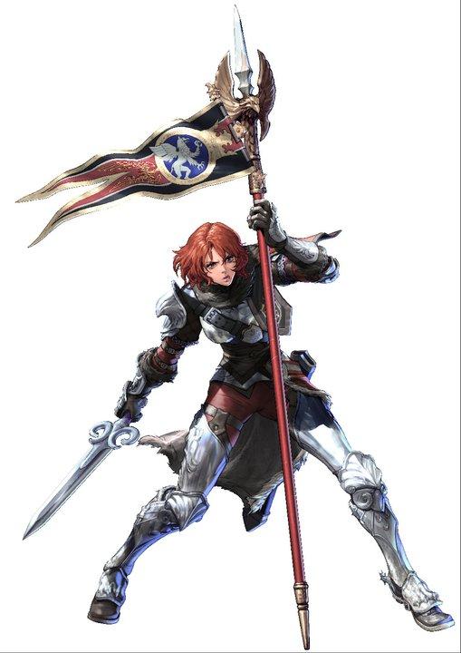 Soul Calibur V character art: Hilde