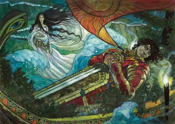 Magic: The Gathering card - Path to Exile, illustrated by Rebecca Guay