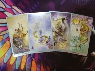 shadowscapes tarot minor arcana