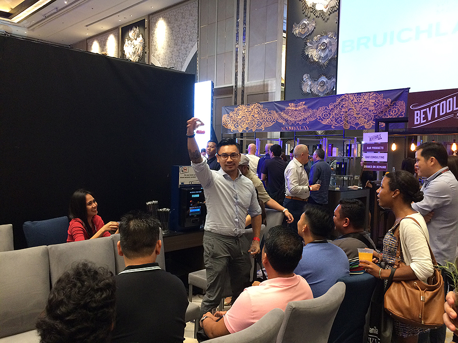 whisky live manila 2016 breathalizer test success