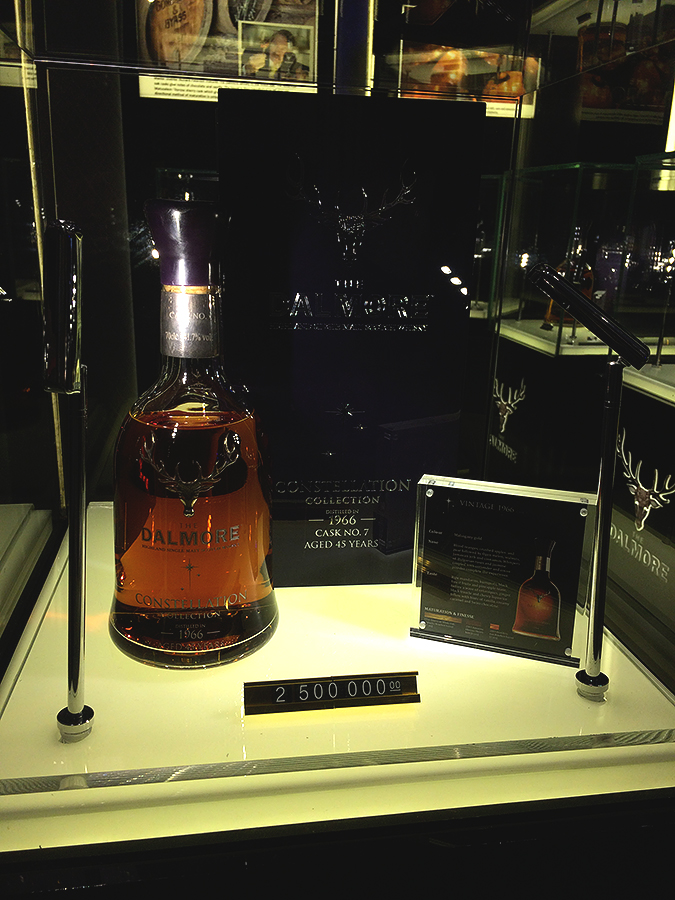 whisky live manila 2016 dalmore bottle