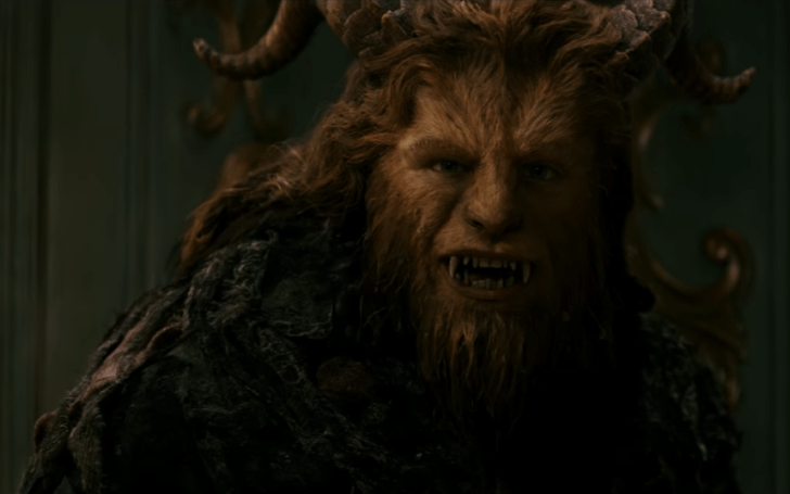 beauty and the beast screenshot beast smiling